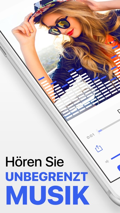 Screenshot for Musik Player ohne Grenzen in Germany App Store