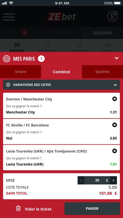 download ZEbet - Paris sportifs apps 2