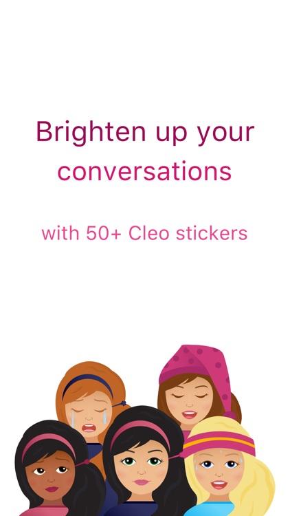 Cleo's Day Stickers