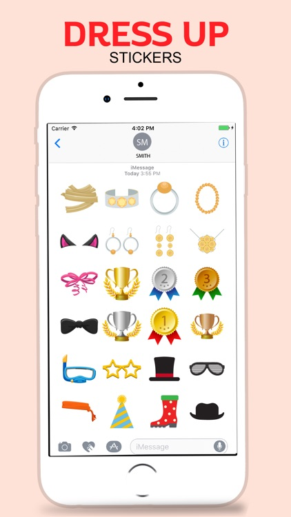 Party Dress Up Stickers