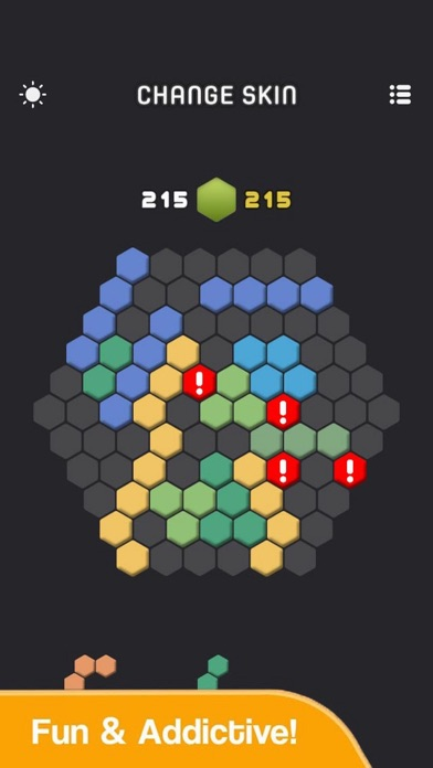 Funny Hexa Box Color screenshot 1