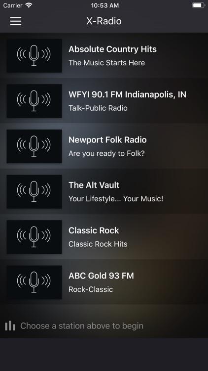 X-Radio screenshot-3