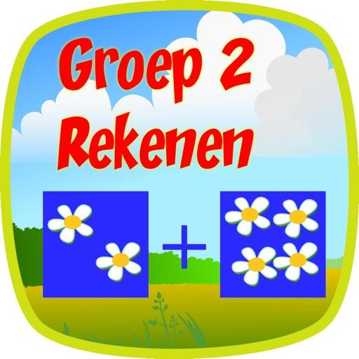 Rekenen Groep 2 basisschool HD icon