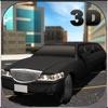 リムジンカードライバーシミュレーター3D - 高級リムジンをドライブ&市内観光にゲストを取る