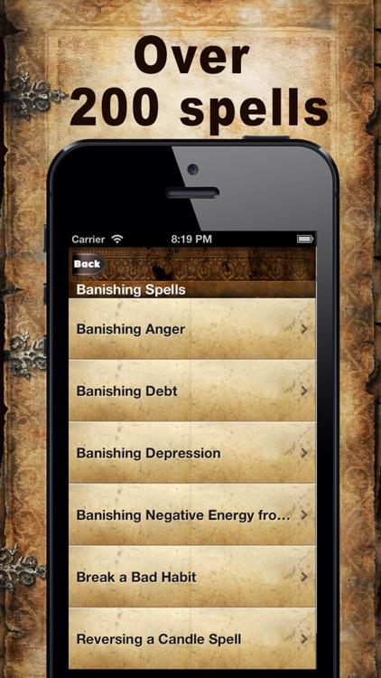Wicca Spellbook screenshot-3