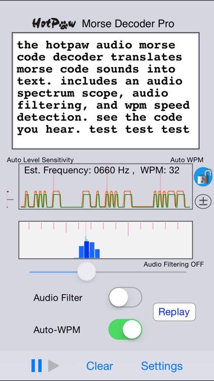 Morse Decoder Pro