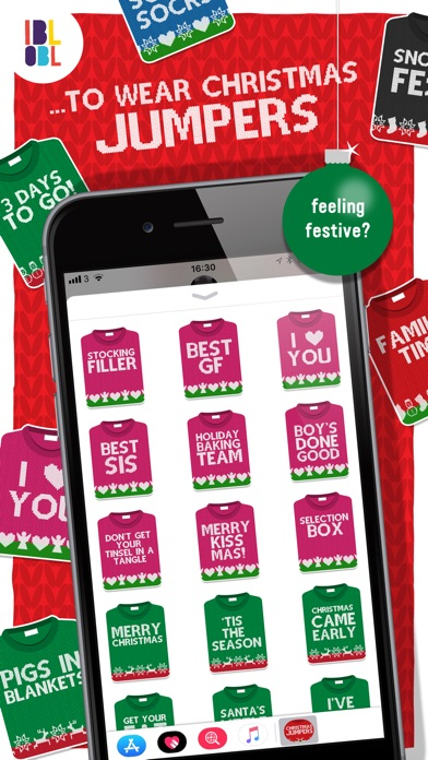 Christmas Jumpers for iMessage screenshot 2