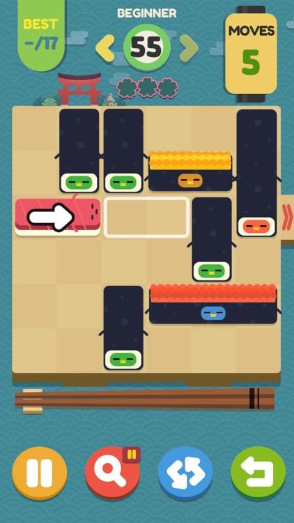 Push Sushi - slide puzzle screenshot-8