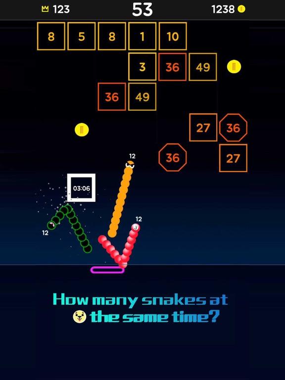 Snake Bricks-Bounce Balls screenshot 11