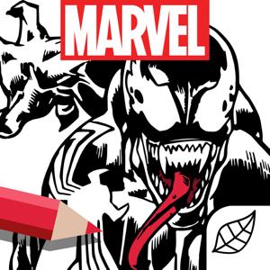 Marvel: Color Your Own Entertainment app