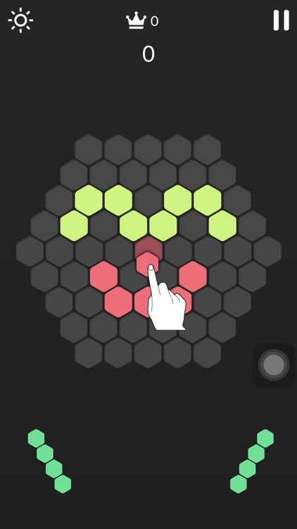 Hex Crush-Hexagon Puzzle Game screenshot-0