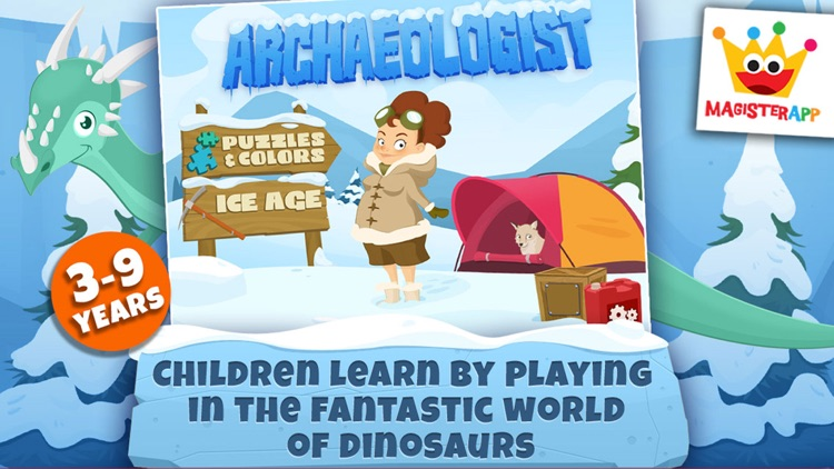 Archaeologist Ice Age Dinosaur screenshot-2