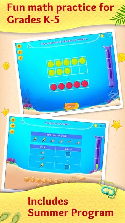2nd Grade Math - Fun Summer Educational Kids Games