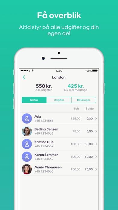 Screenshot for WeShare by MobilePay in Denmark App Store