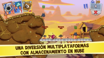 Screenshot for Worms3 in Peru App Store