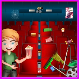 Cinema Cleaning - Theater Management Game