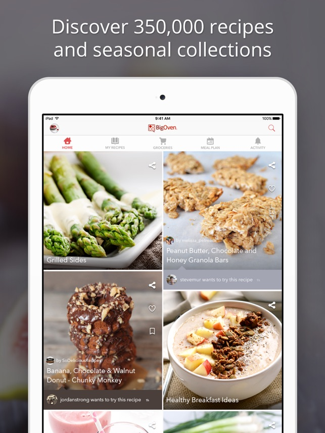 BigOven 350000 Recipes On The App Store