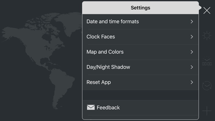 map:clock - World Map & Clock screenshot-7