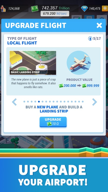 Idle Airport Tycoon - Planes screenshot-3