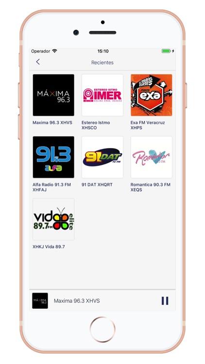 Radios de Mexico - AM/FM screenshot-4