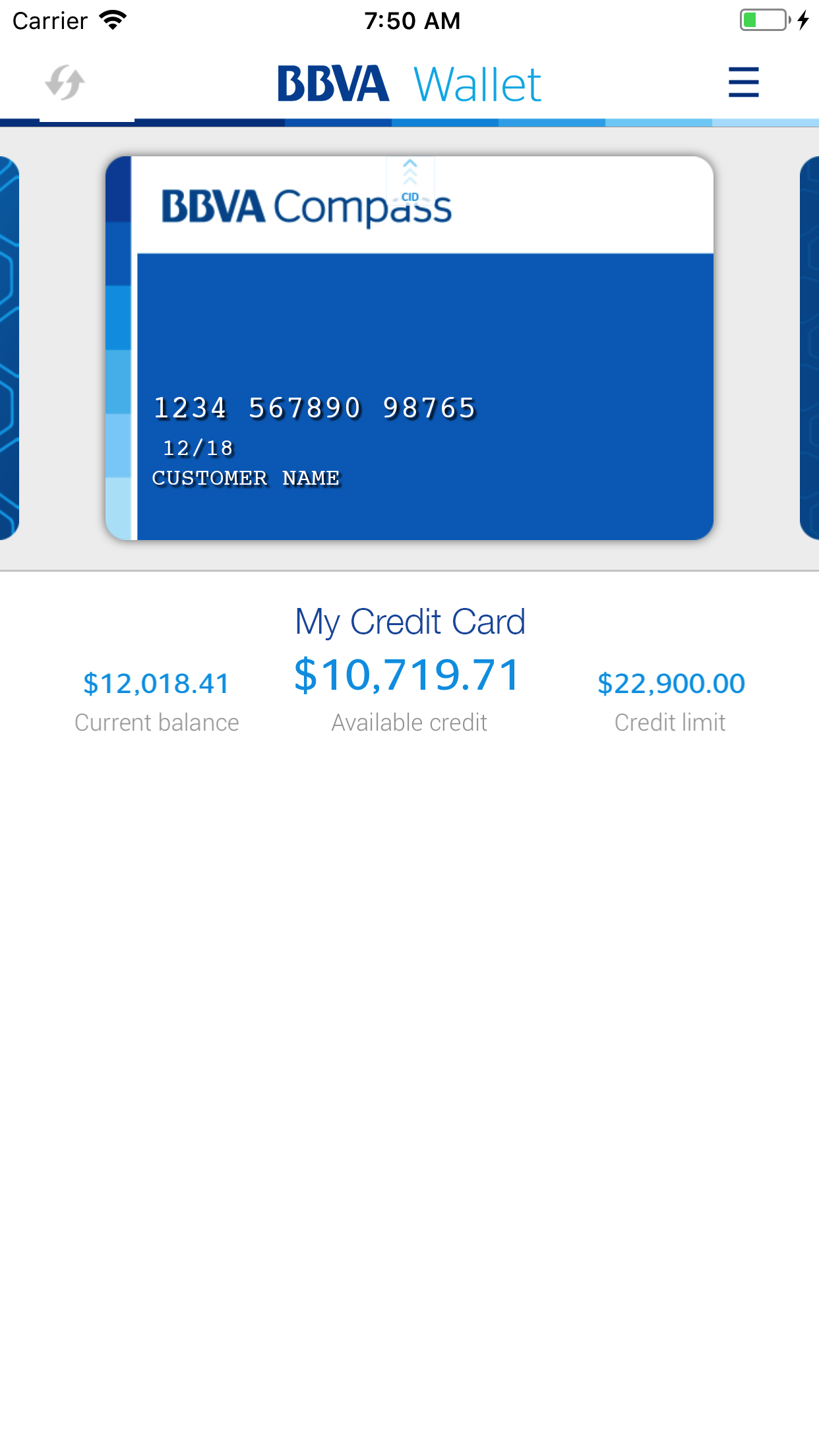 BBVA Wallet | USA Screenshot