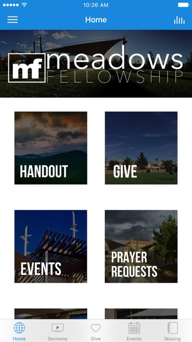 Meadows Fellowship screenshot 1