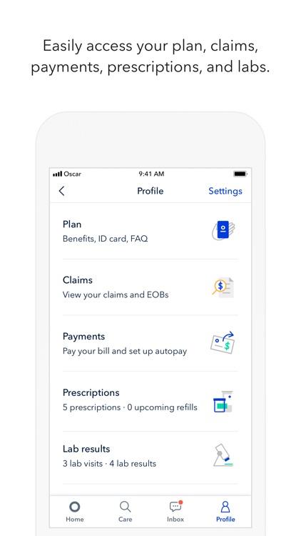 Oscar Health screenshot-3