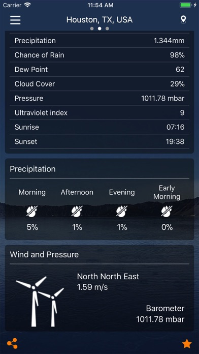 Weather : Weather forecast for Windows