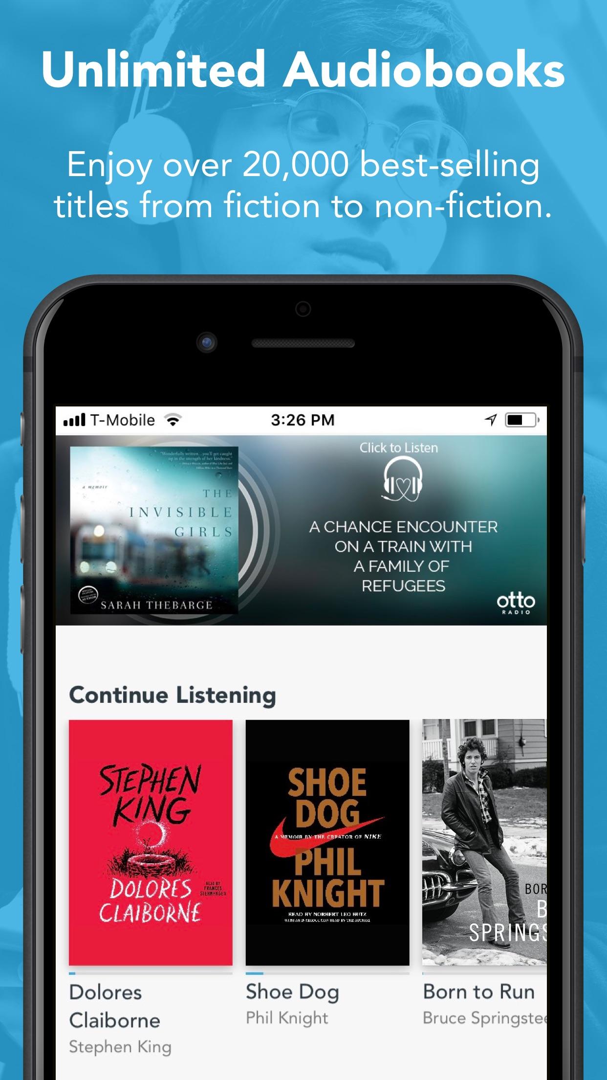 Otto - Audiobooks and Podcasts Screenshot