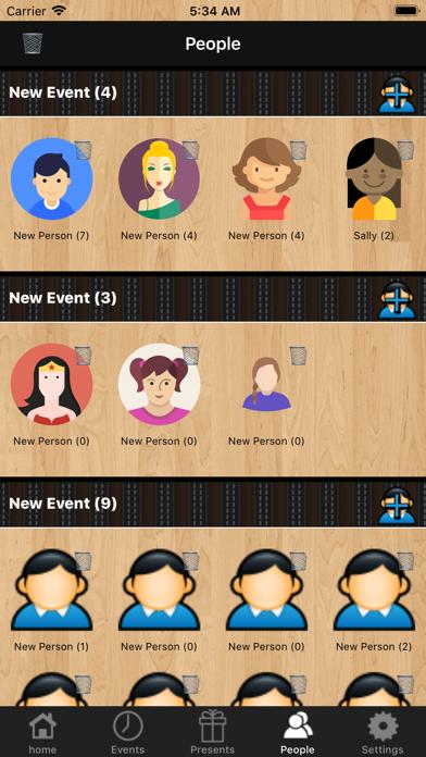 iPresents - Great Organizer screenshot one