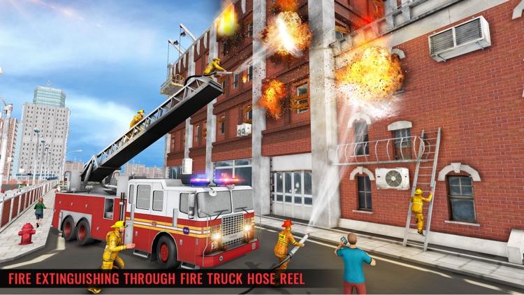 Fire Truck Driving Simulator screenshot-5
