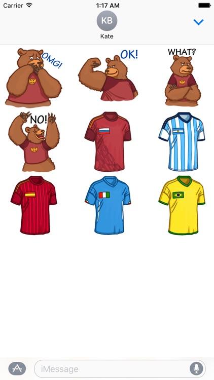 Soccer Emoji Football Stickers