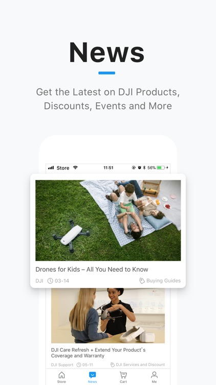 DJI Store – Get Deals / News screenshot-2