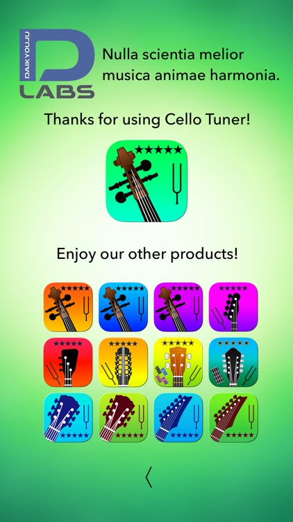 Cello Tuner Professional screenshot-9