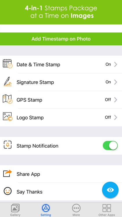 Add Text & Timestamp to Photos