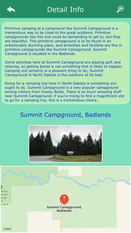Campgrounds in North Dakota
