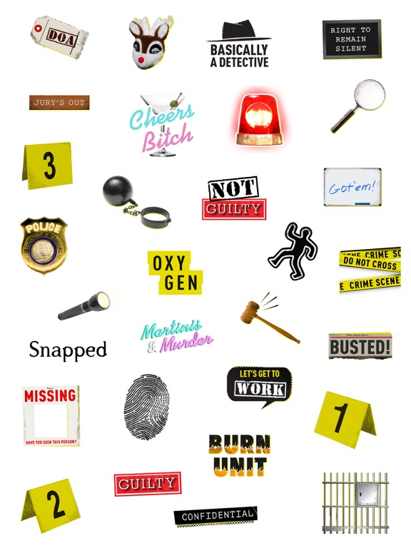 Oxygen Crime Stickers screenshot 7