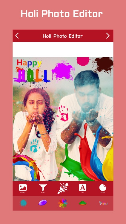 Holi Photo Editor screenshot-0