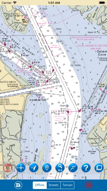 Delaware Bay – Marine Charts screenshot-1