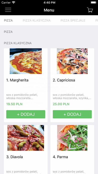 Pizzeria Little Italy screenshot 1