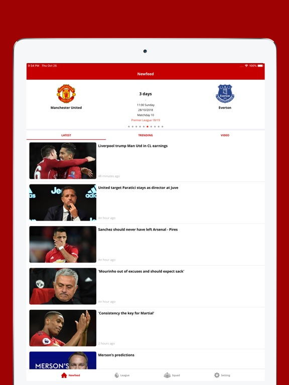 Man United Daily News-ipad-0