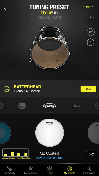 Drumtune PRO | Drum Tuner screenshot-3