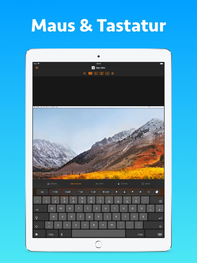 Remote Control for Mac - Pro Screenshot