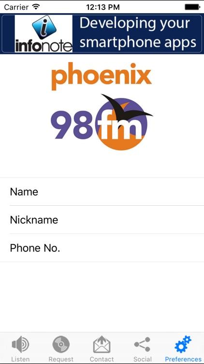 Phoenix 98FM screenshot-4