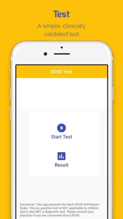 ADHD Screening Test
