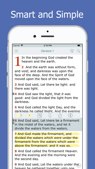 Screenshot for Holy Bible - Daily Reading in United States App Store