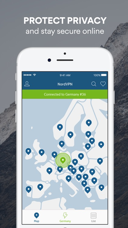 VPN by NordVPN - Unlimited Privacy & Security VPN screenshot-0