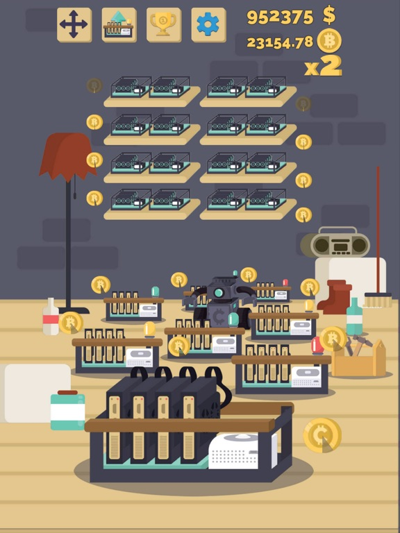 Bitcoin mining: life simulator-ipad-2