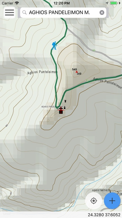 Kea topoguide screenshot-8