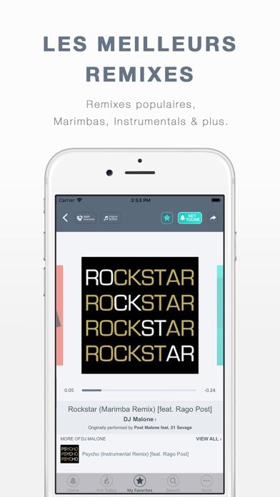 download TUUNES™: Sonneries pour iPhone apps 4